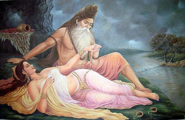 Menaka Distracts Vishwamitra From Tapasya