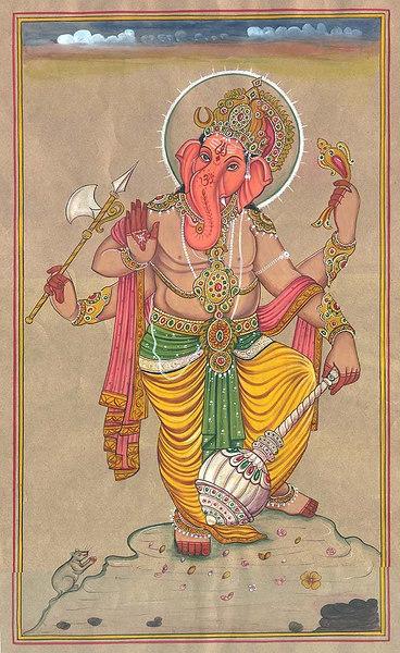 Yuddha Ganapati (Ganesha the Warrior)