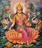 Lakshmi, Goddess of beauty, royalty and fortune