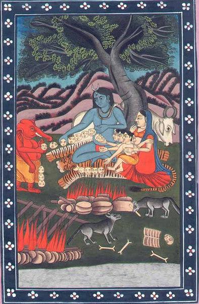 shiva and his parivaar