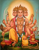 Five-Headed Hanuman