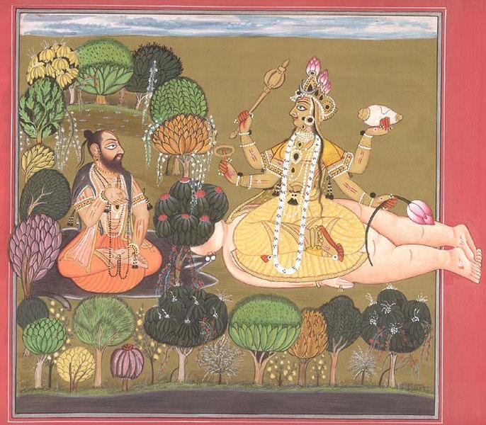 worship of laxmi
