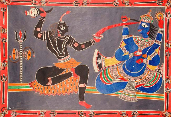 Vishnu Offers Shiva His Blood