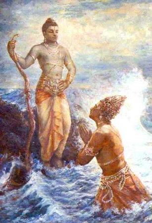 rama-sea-deity