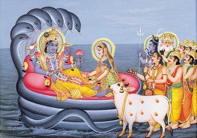 Vishnu Resting on Sheshanaga