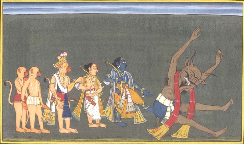 Ram and Lakshmana in Exile