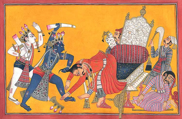 krishna kills kansa