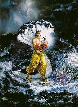 vasudeva-carries-krishna