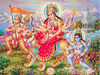 Durga Mahamai And Bajarangbali