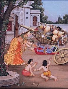 Krishna Kills Shakatasura