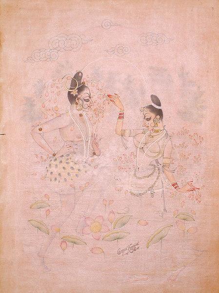 The Oceanic Dance of Shiva and Shakti