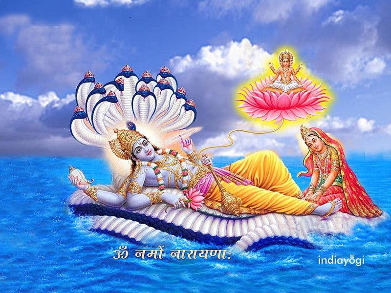 Shree Vishnu On Sheshnaag
