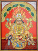 Vishnu as Narasimha Killing Hiranyakashyapu