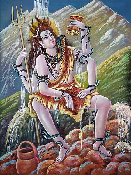 Lord Shiva And Ganga