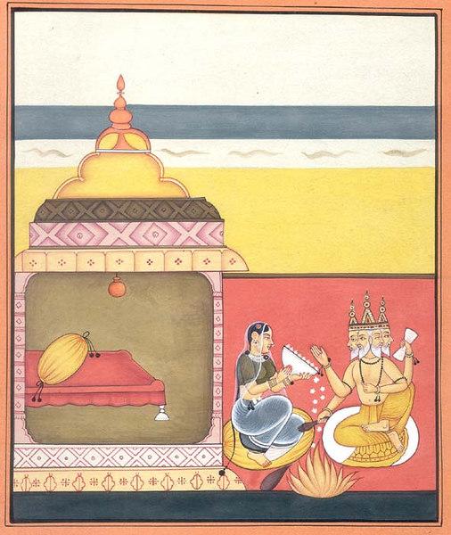 Brahma and Brahmani