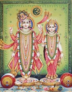 Narayan and Lakshmi