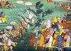 Ravana Attacking Rama's Army
