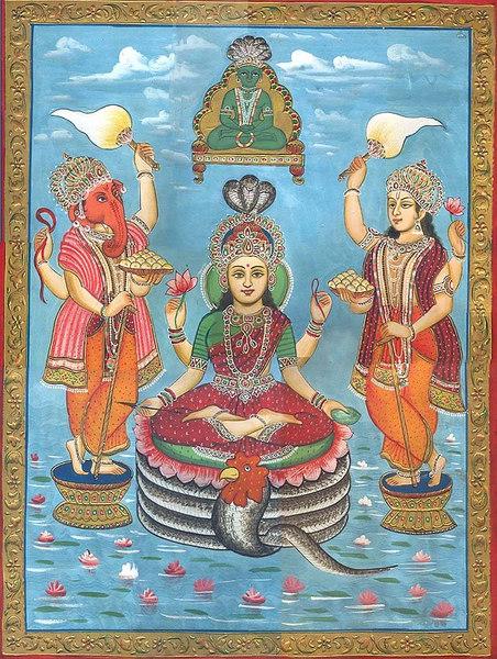 Jain Form of Lakshmi