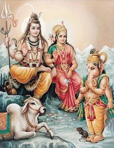 Ganesh in anjali mudra