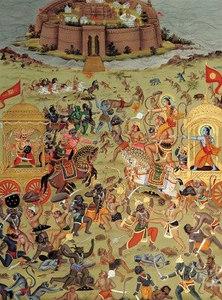 The battle of Lanka