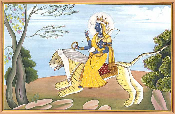 Durga The Dispeller of Darkness and Misery