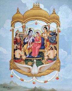 Return to Ayodhya by airplane