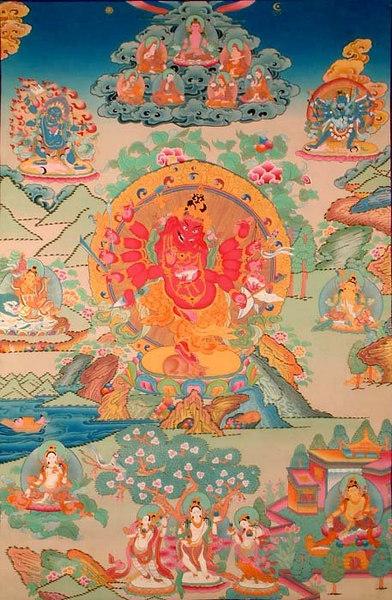 Twelve Armed Ganesha