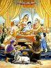 krishna-bathed