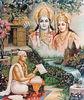 Tulsidas recording the Ramayana