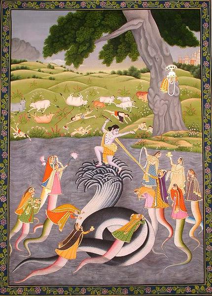 Krishna Vanquishes Kaliya