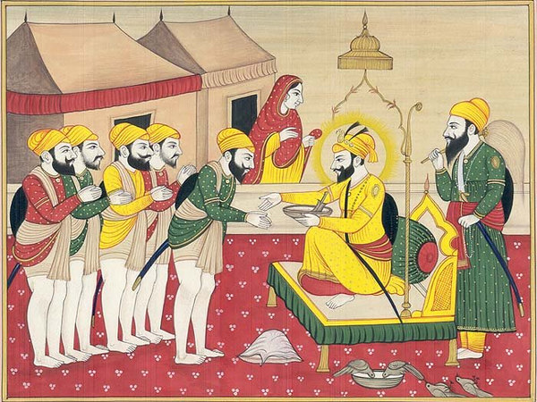 Guru Gobind Singh and the Panj Pyaras