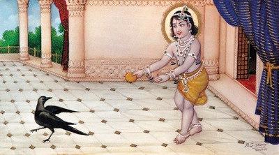Rama as a child