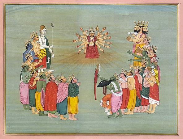 The Birth of Devi
