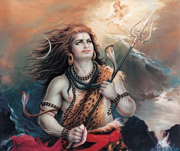 Lord Shiva and the descent of the Ganges
