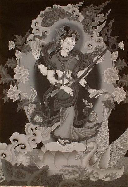Tibetian Saraswati