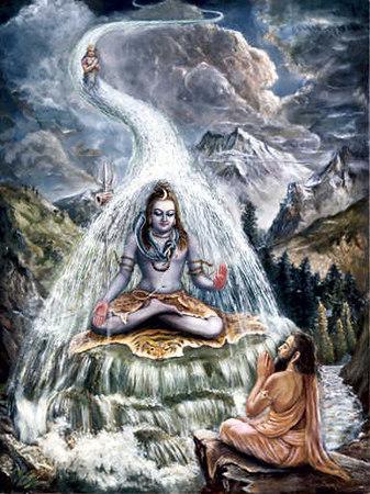 mahadev calls apon ganga
