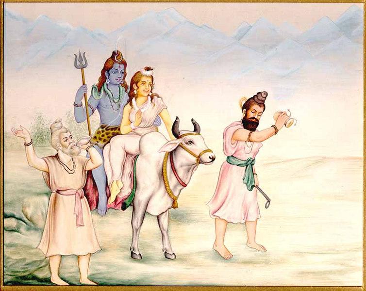 Vrashbharudha Shiva, or Uma Maheshwar