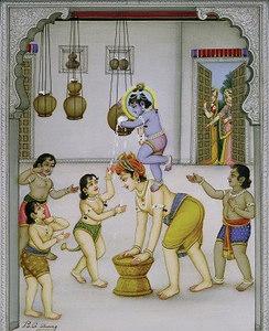 Krishna Steals Butter