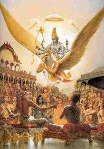 shri narayan comes to dakshas yagya
