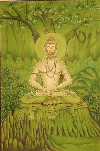 Bhageerath Tapasya Padmasana