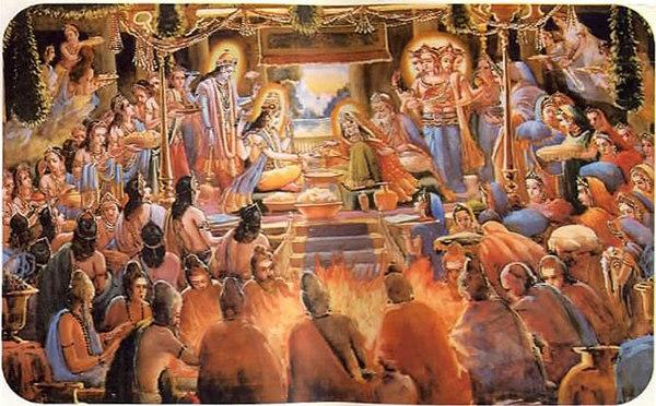 Wedding of mahadeva