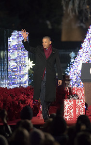 Barack Obama, National Christmas Tree