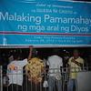 """INC members gathered Tuesday for a bible exposition dubbed """"Malaking Pamamahayag ng mga aral ng Dyos."""""""
