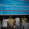 "INC members gathered Tuesday for a bible exposition dubbed ""Malaking Pamamahayag ng mga aral ng Dyos."""