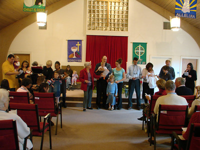 Infant Dedication Sunday Worship