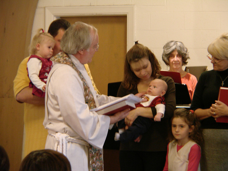 Dedication of Caden James Marsh