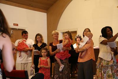 Infant Dedication Sunday