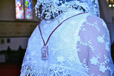 ur Lady promised that if you wear the brown scapular and say the rosary every day, you will not suffer hell. A lot of people don't know the rosary is part of the requirements. If you are in purgatory, she will come and get you the next Saturday. You need to be enrolled in the brown scapular only once in your life.