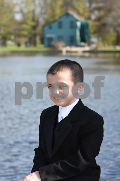 Joseph B's Communion Pics