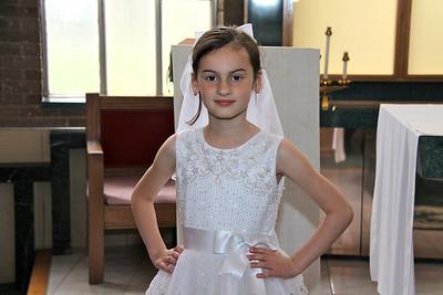 Juliana's First Communion